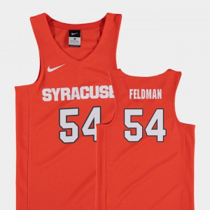 Replica College Basketball Syracuse Orange Ky Feldman Jersey Player Orange Kids #54 276973-786