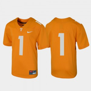 Youth(Kids) Tennessee Orange Untouchable University #1 Football Tennessee Vols Jersey 810264-869